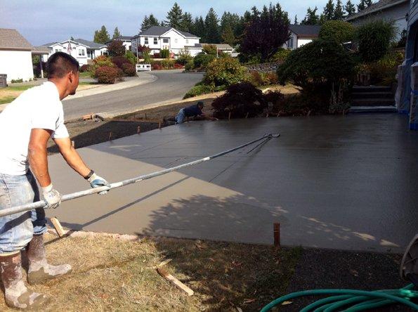 concrete cut lines
