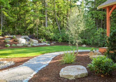 Full service landscape design and installation in Seabeck, WA