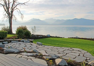 Full service landscape installation. Landscape designed by Emily Russell, ASLA