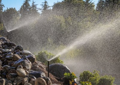 Irrigation and landscaping in Kingston, WA