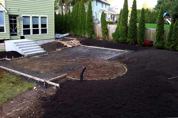 backyard landscaping silverdale