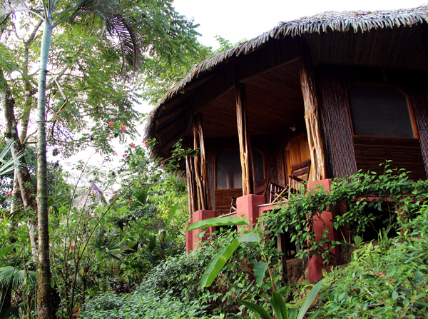 Our home for 4 nights at the Luna Lodge on the Osa Peninsula